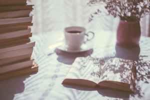 opened-book-and-mug